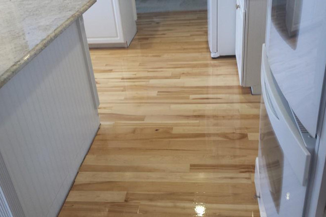 Maple Hardwood Flooring Installation